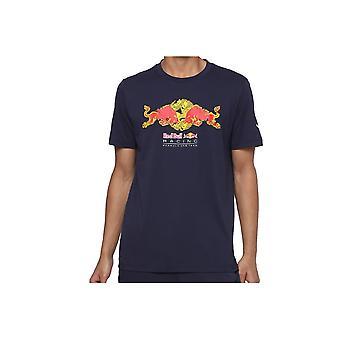 Puma Red Bull Racing Double Bull Tee 59620901 universal all year men t-paita