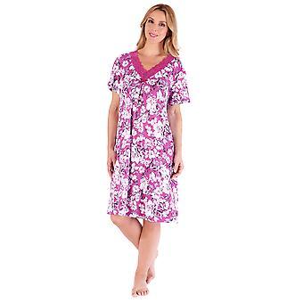 Slenderella Gaspé GL66701 Women's Floral Nightdress