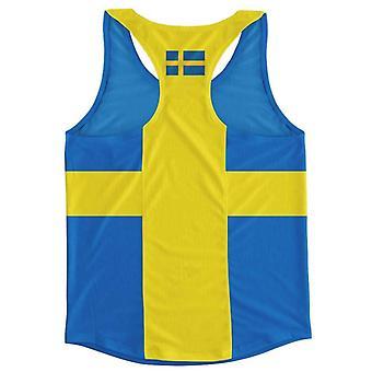 Colete de execução da bandeira da Suécia