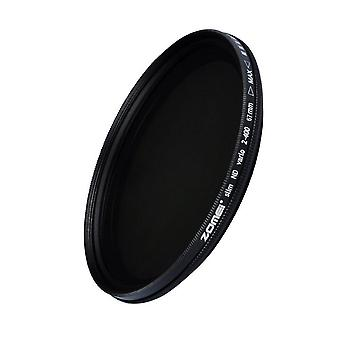 Glass Slim Nd2-400 Neutral Density Fader Variable Filter Adjustable