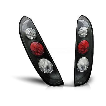 Posteriore LIGHTS OPEL CORSA C 11 00-09 06 NERO
