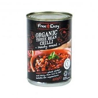 Free Natural - Three Bean Chilli 400g
