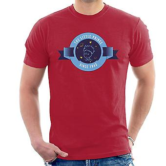 The Little Prince Circle Badge 1943 Men's T-Shirt