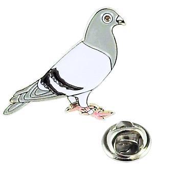 Ties Planet Racing Pigeon Lapel Pin -merkki