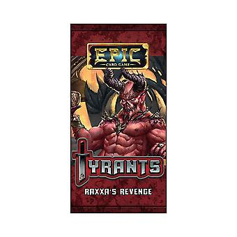 Epic Card Game Tyrants - Raxxa's Revenge Expansion Pack