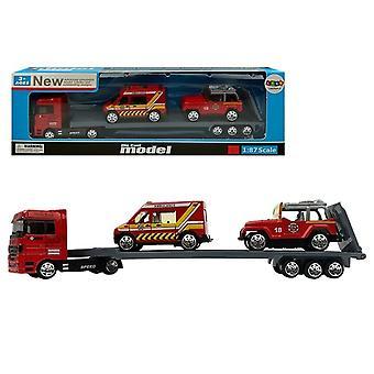 Spielzeug-LKW mit Sattelauflieger - 3-teilig
