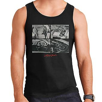 MG Safety Fast Montage British Motor Heritage Men's Vest