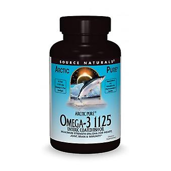 Source Naturals ArcticPure Omega-3 1125 Enteric Coated Fish Oil, 60 Soft gels