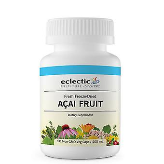 Eclectic Institute Inc Acai Fruit, 400 mg, 50 Caps
