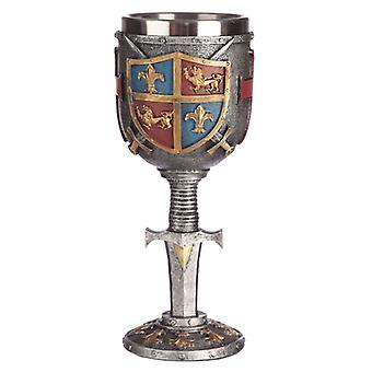 Collectable Decorative Coat of Arms Goblet