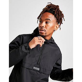 New Nicce Men's Caro Cagoule Jacket Black