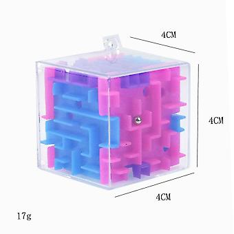 3d Cube Puzzle Labyrintti, Kids Educational Decompression Kapseli
