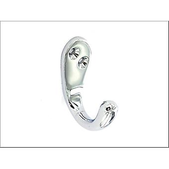 Securit Victorian Robe Hook Chrome 50mm x 2 S2981