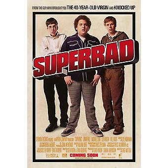 Superbad film plakat (11 x 17)