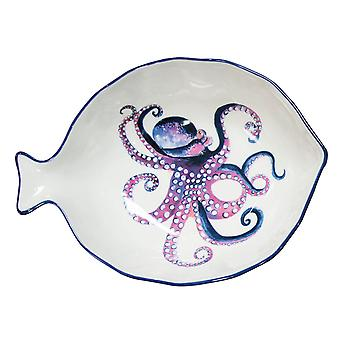 English Tableware Company Dish Of The  Day Dish Large Octopus DD35DCA01
