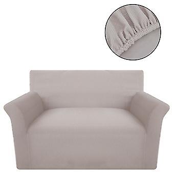 أريكة husse أريكة تغطية Stretchhusse البيج البوليستر مضلع متماسكة
