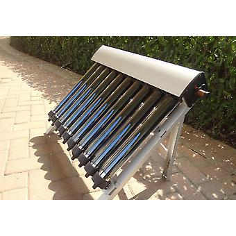 Solar Hot Water Heater, 10 Evacuated Tubes, Heat Pipe Vacuum Tubes