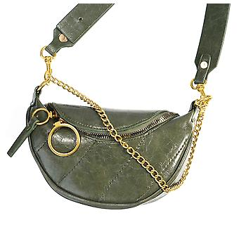 Pu Leather Crossbody Bags Chain Small Shoulder Messenger Bag