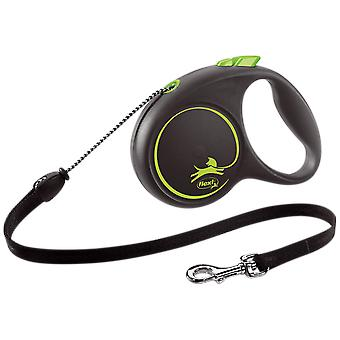 Flexi Correa Flexi Black Design M Cordón (Dogs , Collars, Leads and Harnesses , Leads)