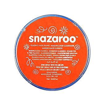 Snazaroo face and body paint, 18 ml - dark orange (individual colour) classic 18ml