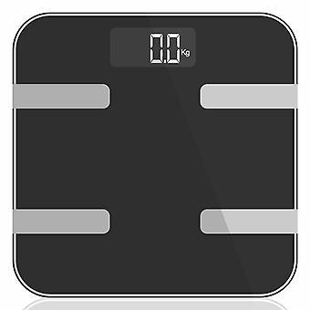 AQ 9 in 1 Digital Bathroom Weighing Scales Space Grey