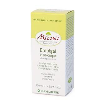 Micovit Emulgel face and body 150 ml of gel
