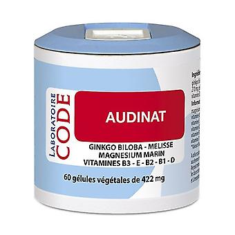 Audinat- Pillbox 60 capsules of 422mg