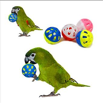 Bright Color, Hollow Bell Ball For Pet Birds