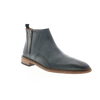 Giorgio Brutini Renegade  Mens Gray Leather Zipper Dress Boots