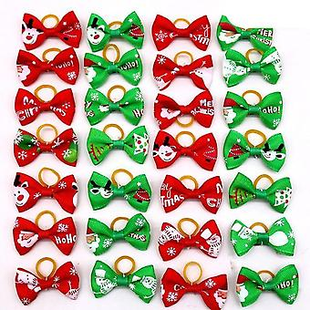 Dog Grooming Hair Bows-rubber Bands