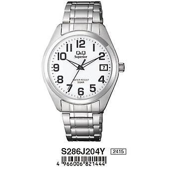 Q&q watch s286j204y