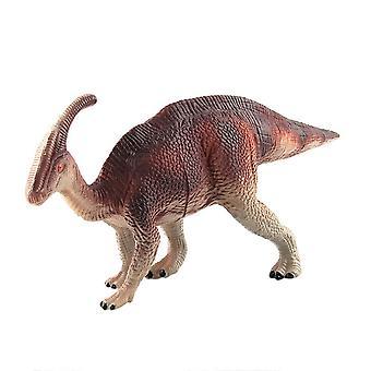 Dinosaur Modell Plast Dinosaur Playset Realistisk Handmålade leksak animalisk statyett modell