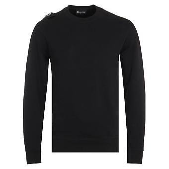 MA.Strum Core Crew Neck Sweatshirt - Jet Black