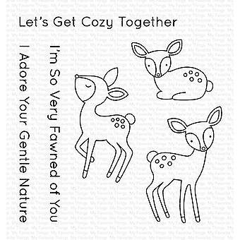 "My Favorite Things Vault Clear Stamps 4""X6"" - Dashing Deer"