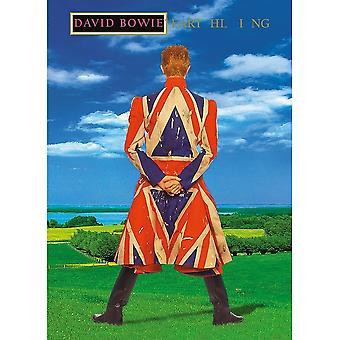 David Bowie Earthling Postcard