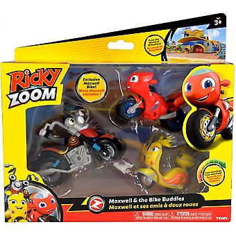Ricky Zoom Maxwell & The Bike Buddies Adventure Set
