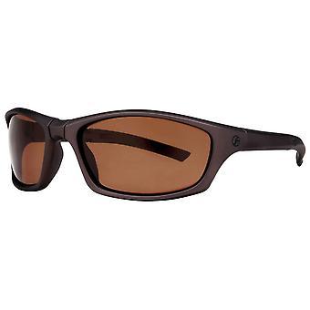 Freedom Foldable Sport Wrap Sunglasses - Matte Brown