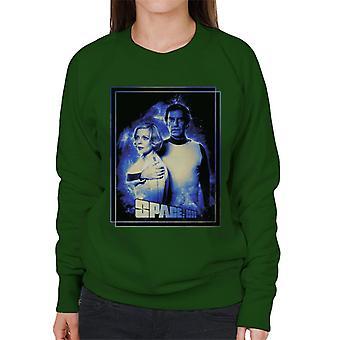 Utrymme 1999 Helena Russell och John Koenig Kvinnor's Sweatshirt