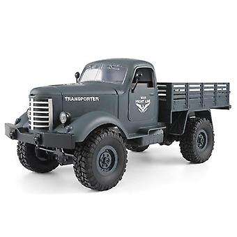 Rc Truck 6wd/ 4wd Rc Off-road Crawler Military Truck Army Car Toy