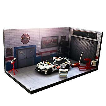 1/64 E 1/24-garage/riparazione Modello negozio