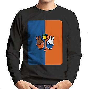 Miffy och Melanie Men&s Sweatshirt