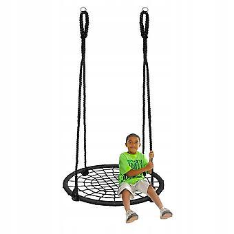 Nestschaukel - 100 cm - Schwarz - mit 175 cm langen Seilen