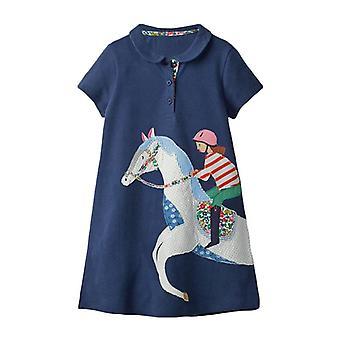 Unicorn Applique's Denim šaty