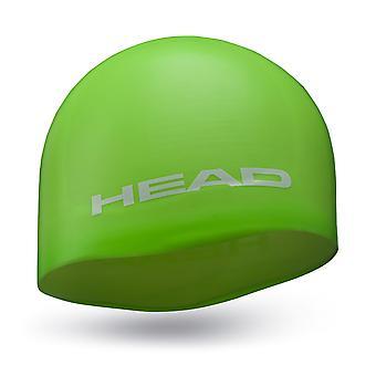 Gorra de natación moldeada de silicona de la cabeza