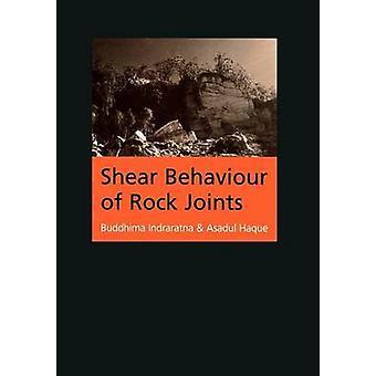 Shear Behaviour of Rock Joints door Asadul Haque - 9789058093080 Boek
