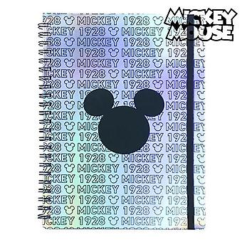 Book of rings mickey mouse blue front