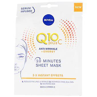 Lancaster Q10+ Anti-Wrinkle Vitamin C+Energizing Face Mask