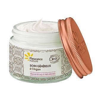Nourishing cream with organic argan 50 ml of cream