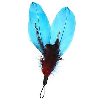 Cat Pet Toy Colorful Feather Replacement 5 Pack