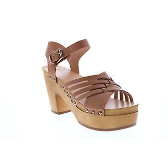 Frye & Co. Adult Womens Greta Woven Clog Strap Heels